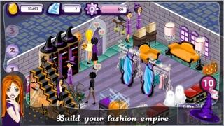 Screenshots of Fashion Design World - Halloween Edition for iPhone