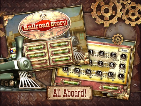 Screenshot #1 for Railroad Story HD