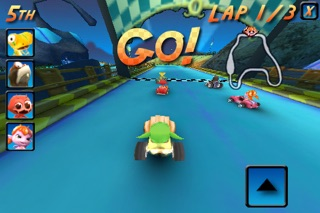 Screenshots of Cocoto Kart Free for iPhone