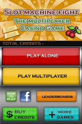 Slot Machine Fight , The multiplayer casino game screenshot 2