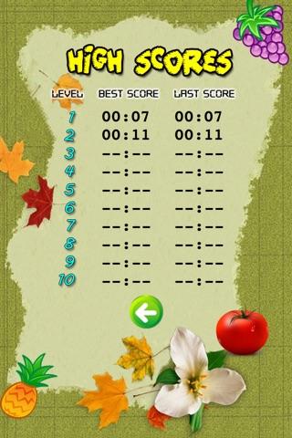 Fruits Memory Game screenshot 4