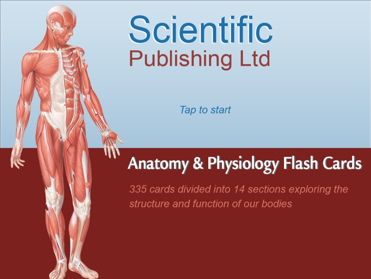Anatomy Physiology Flash Cards For Ipad By Scientific Publishing Ltd