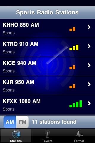Radio Radar screenshot 4