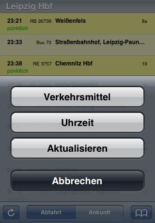 Fahrplan screenshot 2