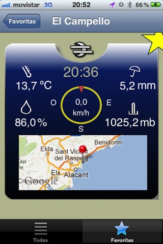 Meteoclimatic screenshot 3