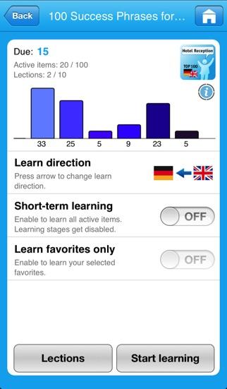 Тренер иностранных слов для iPadСкриншоты 4