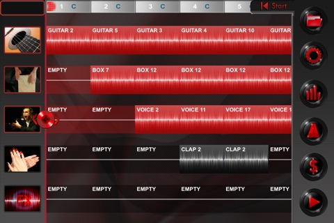 Flamenco Machine screenshot 1