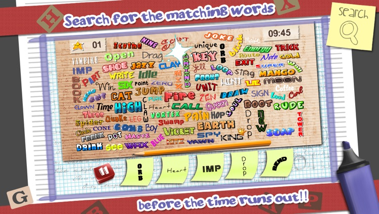 Hidden Object: Search the Word, Full Game by Knuckle Face