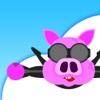 Piggy Parachute