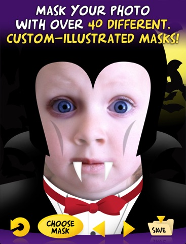 Mask Mania HD - Funny Face Maker screenshot 1