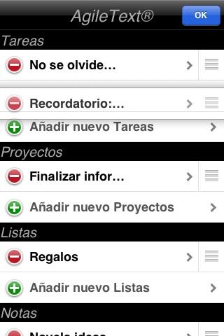 AgileText® Noter Lite screenshot 4