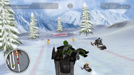 Snow Moto Racing Screenshot