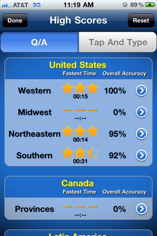 Tapquiz maps world edition on the app store iphone screenshot 5 sciox Images