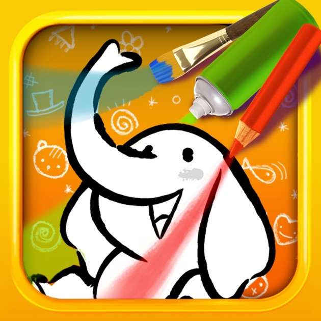Color Draw For Kids Hd 4 Apps In 1 Coloring Book For