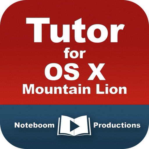 Tutor for OS X Mountain Lion for Mac