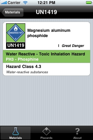 HazRef Lite screenshot 2