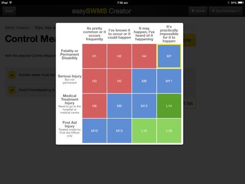 Screenshot of easySWMS