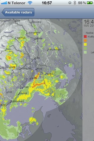 NorRadar screenshot 1
