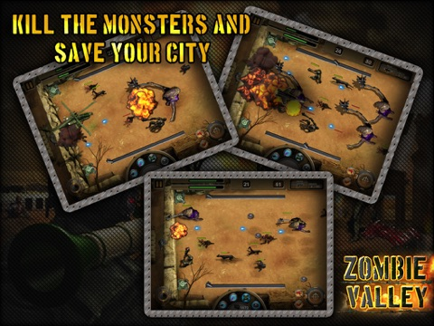 Zombie Valley HD screenshot 4