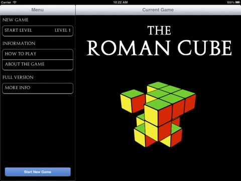 The Roman Cube Lite screenshot 1