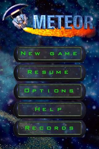 Meteor - Brick Breaker screenshot 1
