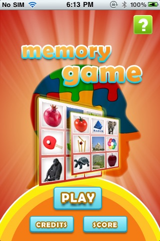 MatchMe memory game screenshot 1