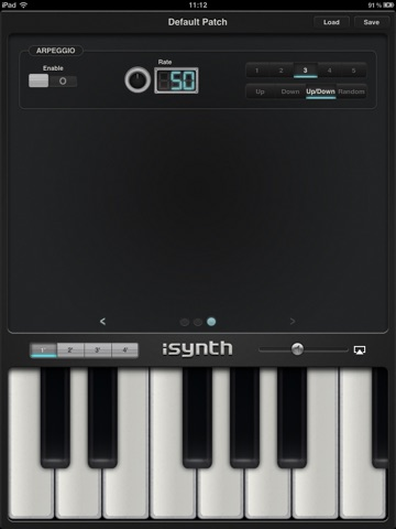 iSynth - Synthesizer for the iPad screenshot 3