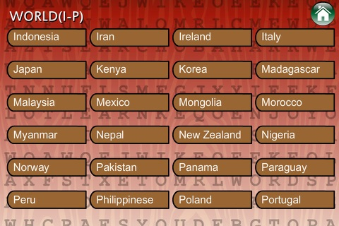Word Search Cultures Global screenshot 3