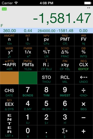 Calculator12 RPN screenshot 1