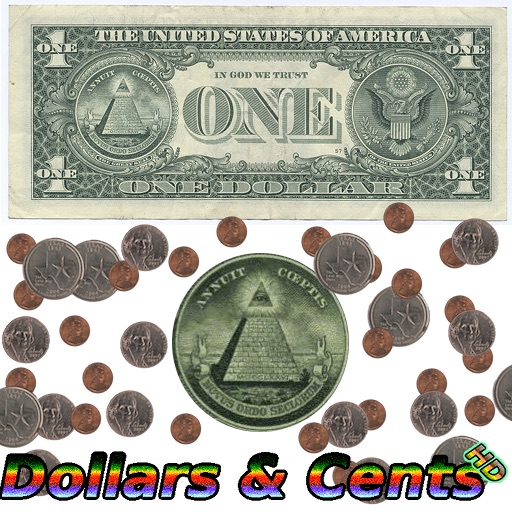 Dollars And Cents HD Icon