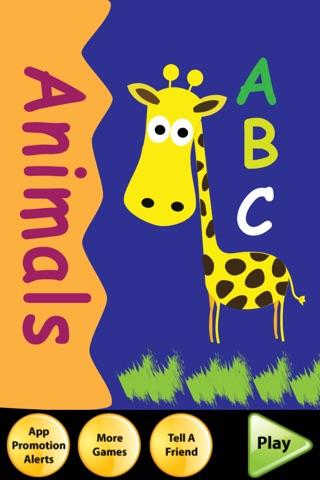 ABC Animal Flash Cards screenshot 1