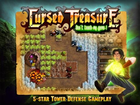 Cursed Treasure HD Lite screenshot 1