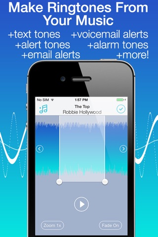 Ringtone Designer Pro 2.0 screenshot 1