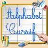 Alphabet Cursif pour apprendre à écrire les lettres cursives