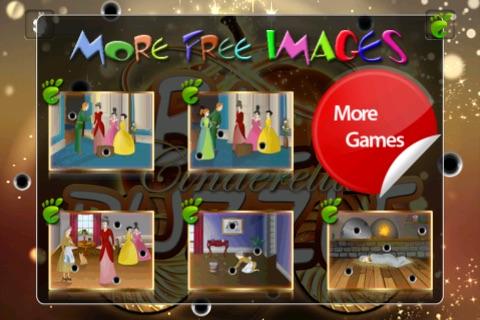 Ball Puzzle Cinderella - Imagination Stairs - ball game app screenshot 2