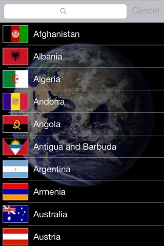 Countries Of The World Lite screenshot 1