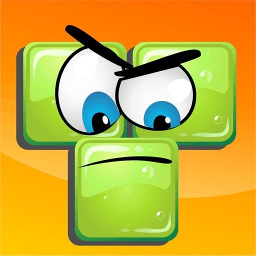 Fris: Cute Fruits saga against angry Blocks iOS App