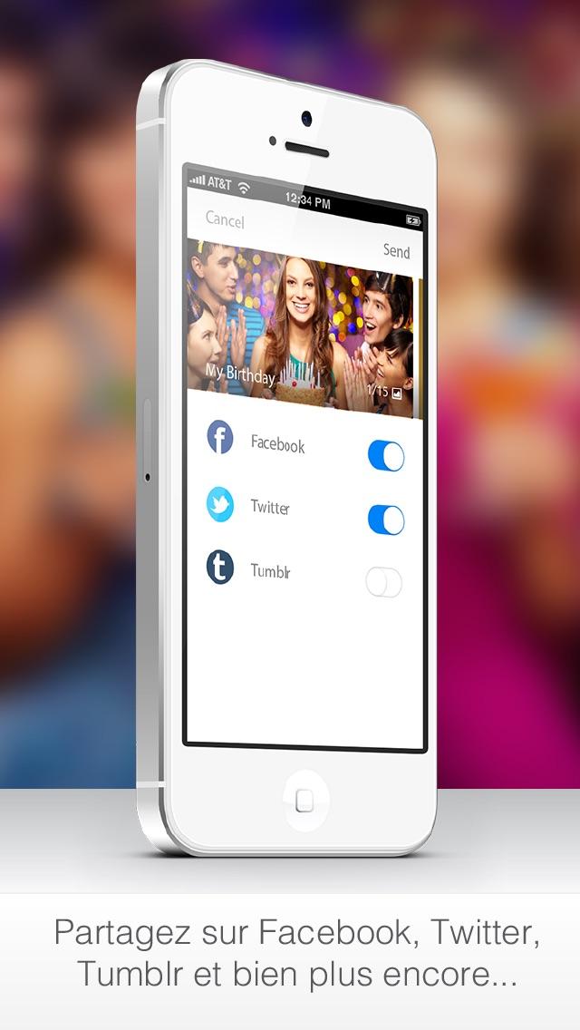 Twister - La meilleure application photo, vidéo et photo panoramique à 360°Capture d'écran de 5
