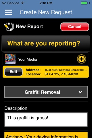 Escondido, Report It! screenshot 4