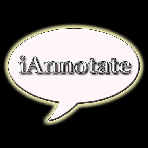 iAnnotate - Annotate your Pictures and Photos iOS App