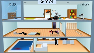Screenshots of Click Death Gym - Stickman Edition for iPhone