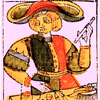 古代のマルセイユ版タロット