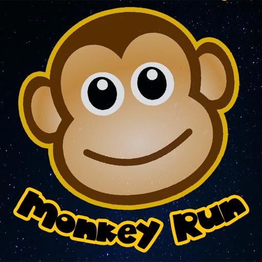 Space Monkey Run iOS App