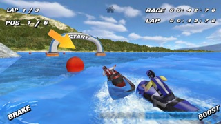 Aqua Moto Racing screenshot one