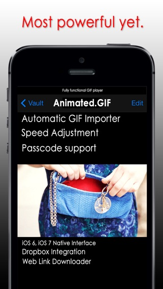 Gif player with dropbox gif viewer and link downloader on the iphone screenshot 1 negle Gallery