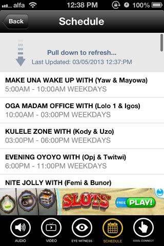 Nigeria Info FM screenshot 3