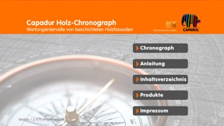 Screenshot von CAPAROL Chronograph1