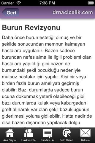 Dr. Naci Çelik screenshot 3