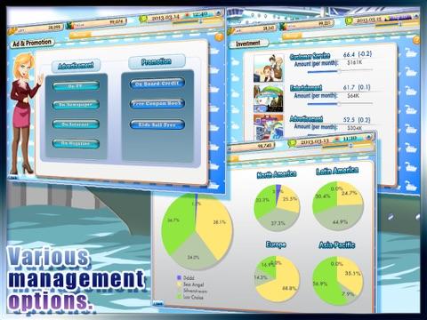 Screenshot #5 for Cruise Tycoon HD