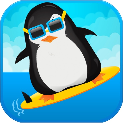 Arctic Penguin Surf PAID - An Awesome Cold Snow Chase Rush iOS App
